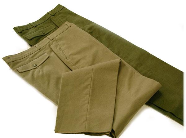 Mens Olive Jeans